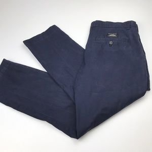 Banana Republic Aiden Chino navy pants  men's 32